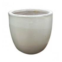Vaso Vietnamita Redondo Branco 400270