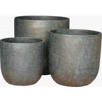Vaso 92441 bronze M ø46cm h46cm