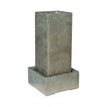 Fonte 92911A bronze 41x41cm h120cm c/ Base 57x57cm h25cm