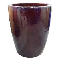 Vaso Vietnamita Redondo Marrom 430040