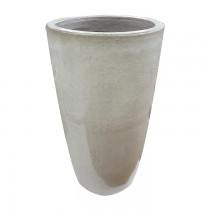 Vaso Vietnamita Redondo Branco 430110