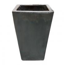 Vaso Vietnamita Quadrado Grafite 430140