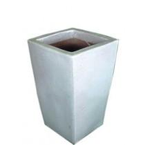 Vaso Vietnamita Quadrado Branco 430140